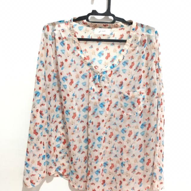 Gaudi chiffon blouse