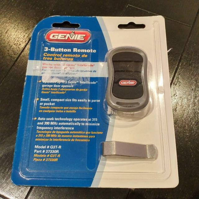 Genie Garage Opener - remote
