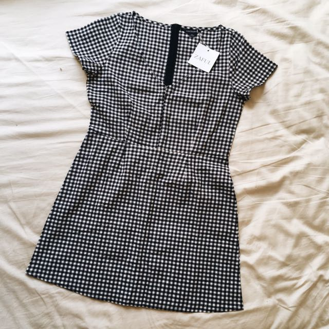 Gingham Dress | New with tags