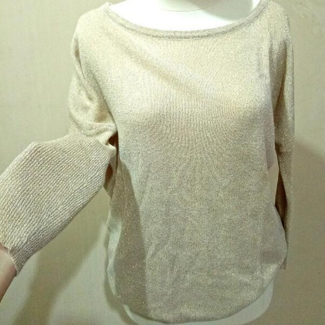 Gold glitter outer cardigan