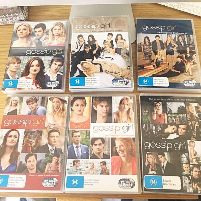 GOSSIP GIRL BOX SET DVDS