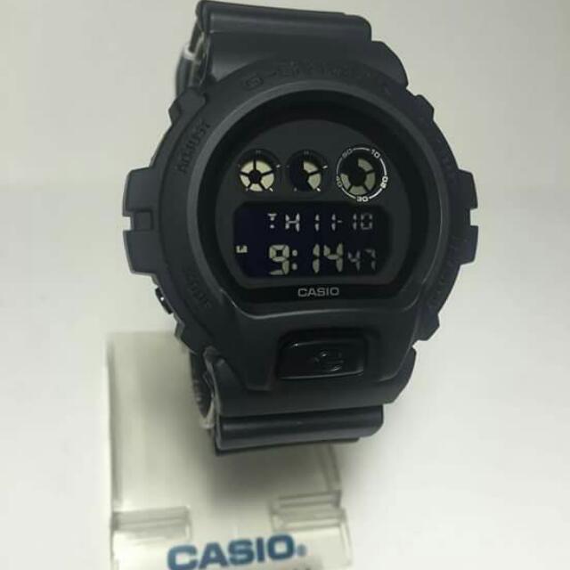 GSHOCK DW6900BB (matte Black)
