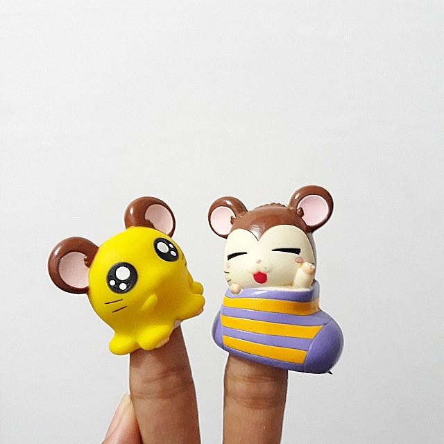Hamtaro Finger Puppet