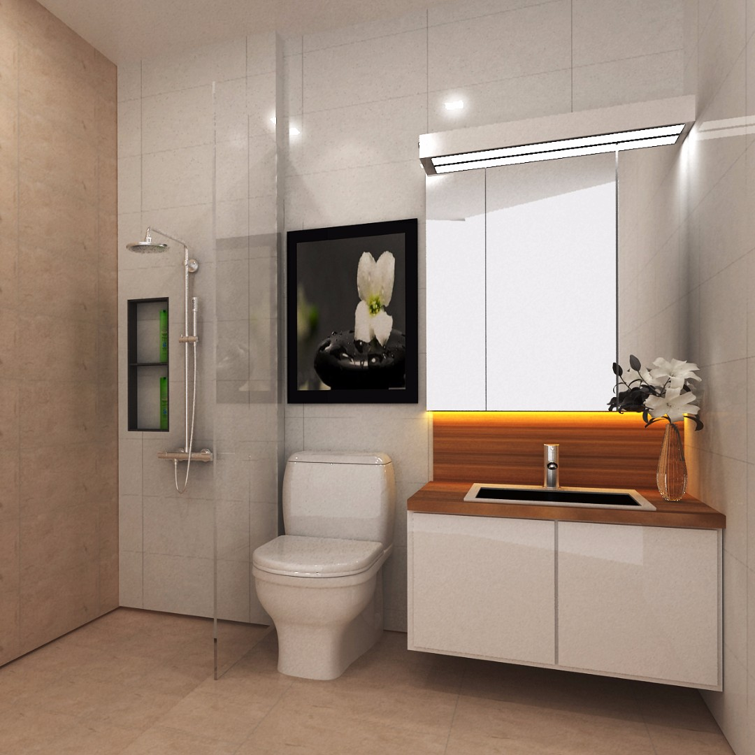Hdb Kitchen And 2 Bathroom Package @ $18,888 (Resale