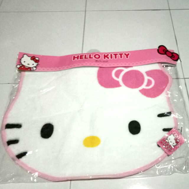 Hello Kitty Bath Mat Furniture Home Decor On Carousell