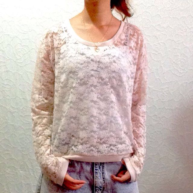 H&M Conscious Collection Lace Top
