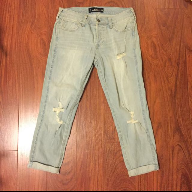 Hollister light wrapped jeans