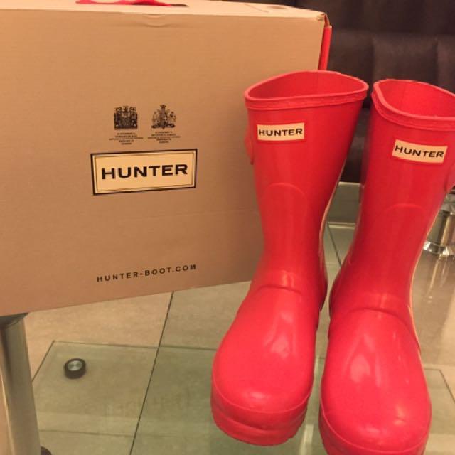 hunter短雨鞋