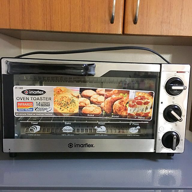 Imarflex oven toaster infrared quadheater
