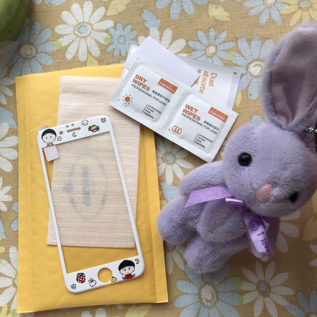 iphone6/6s櫻桃小丸子保護貼