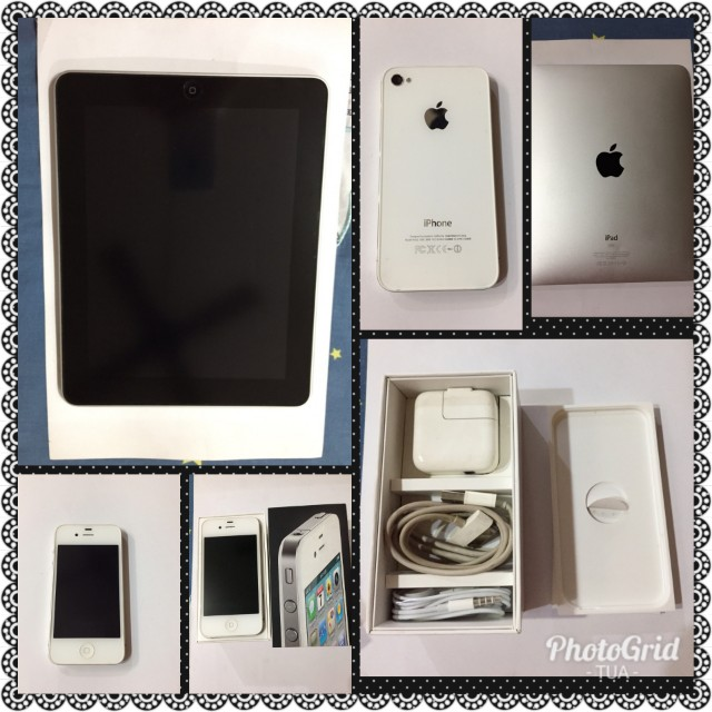 iPhone 4, 16gb with Ipad of 32g (no swapping please)