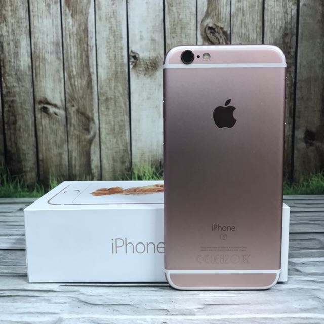 iPhone 6s 64GB Rose Gold Great Condition Mulus ex Uni emirates arab fullset ( ITC Cempaka Mas )
