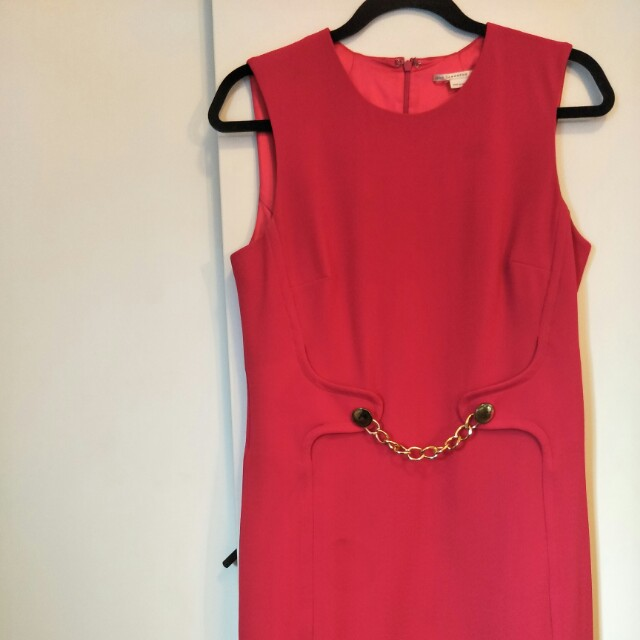 Jane Lamerton Raspberry Shift Dress