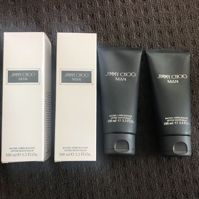 Jimmy Choo after shave balm x2