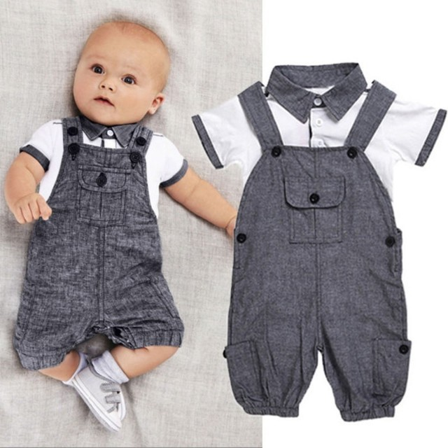 Jumpsuit and Polo Shirt Terno