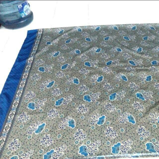 Kain batik sutra Bengkulu 2mX1,25m