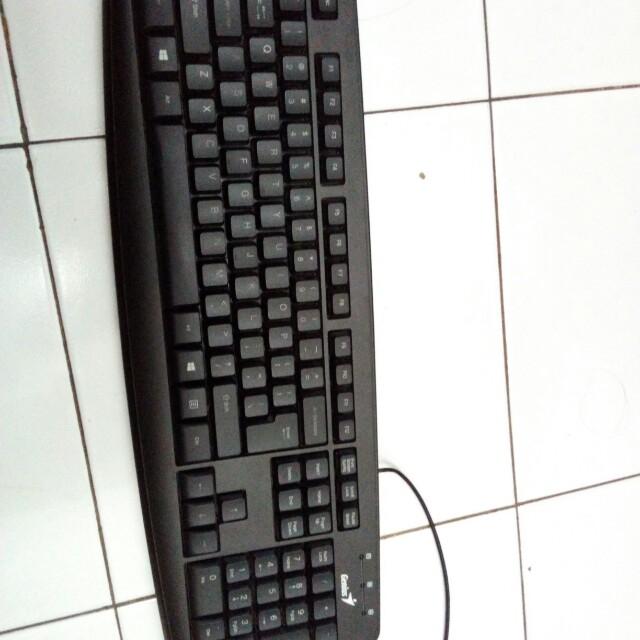 Keyboard USB Merk Genius
