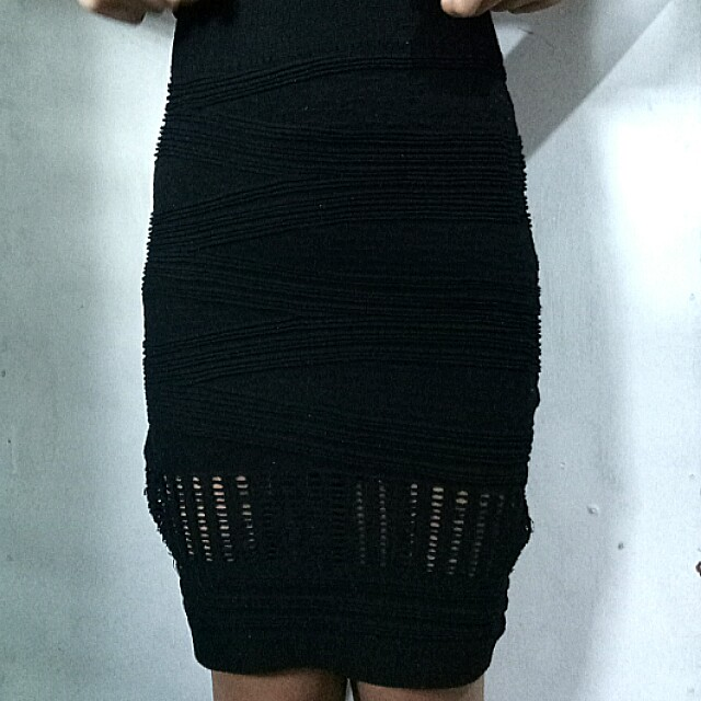 Knitted Pencil Skirt ❤