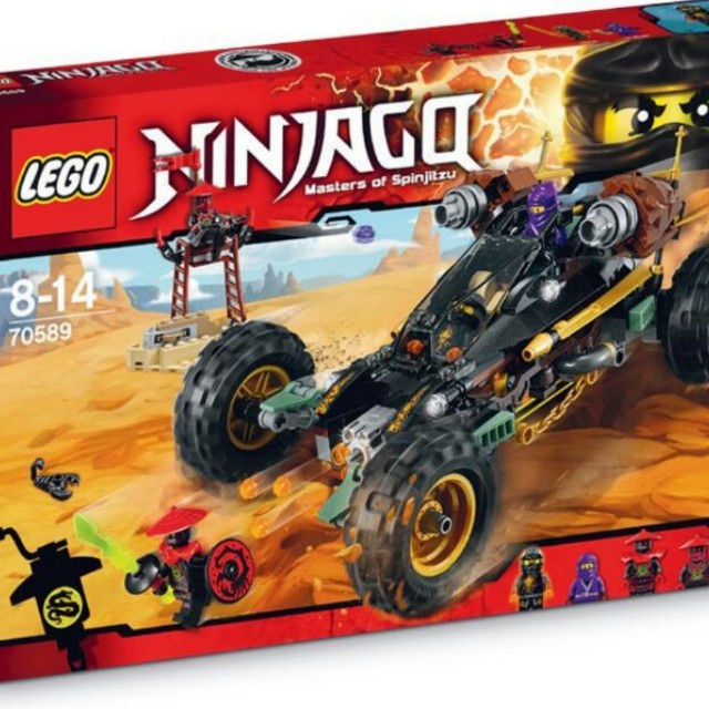Lego Ninjago Rock Roader 70589, Toys & Games, Toys on Carousell
