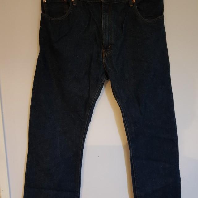 LEVIS boot cut jeans size 38