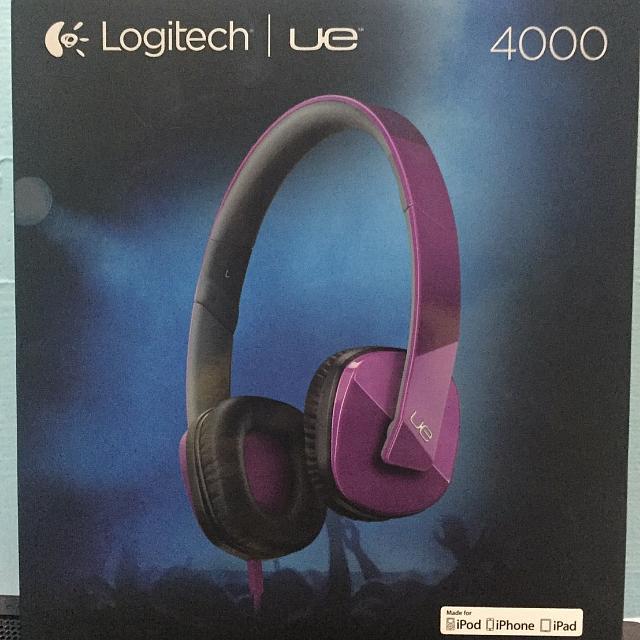 Logitech Ue 4000 全新 耳罩 耳機