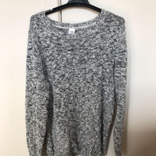 Long knit top