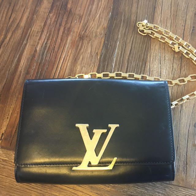 Louis Vuitton Chain Louis GM Autres Cuirs