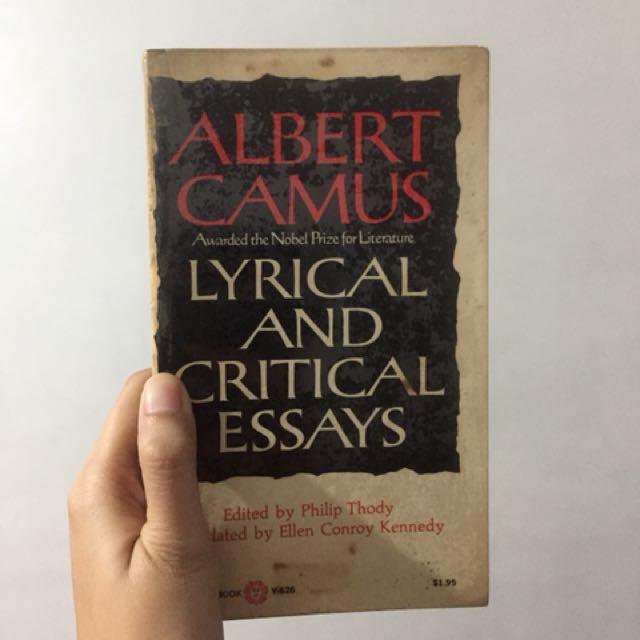 Lyrical and Critical Essays - Albert Camus