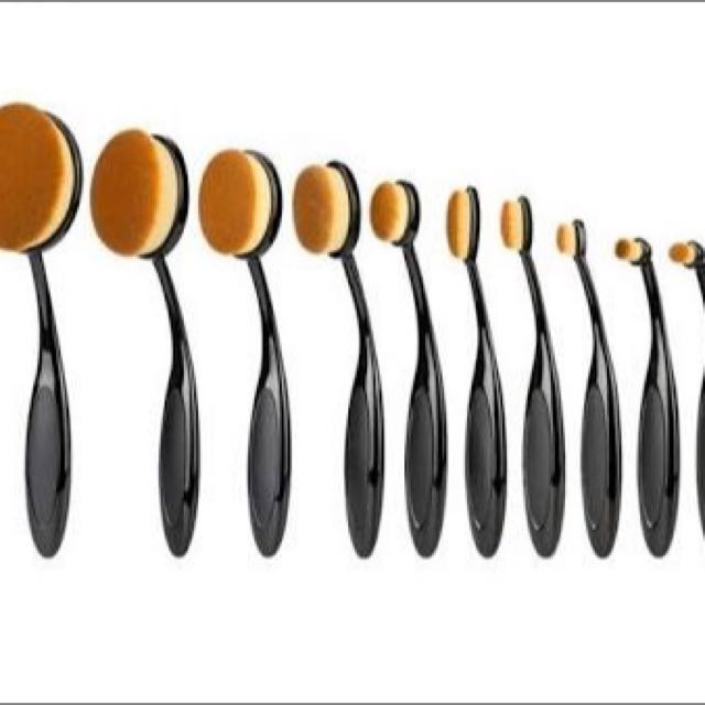 Make Up  Brushes 10 Piece