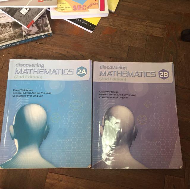 Math textbook 2A/2B