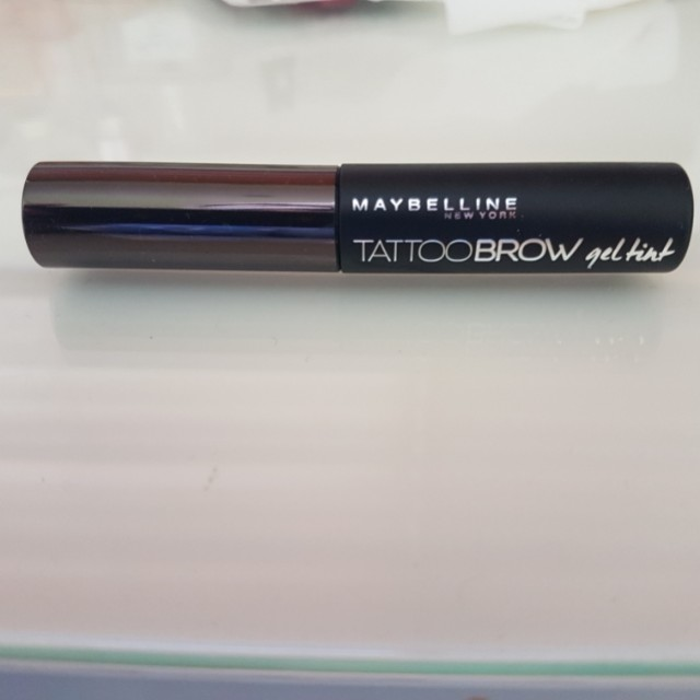 Maybelline Tattoo Brow Gel Tint in Grey Brown *free shipping*