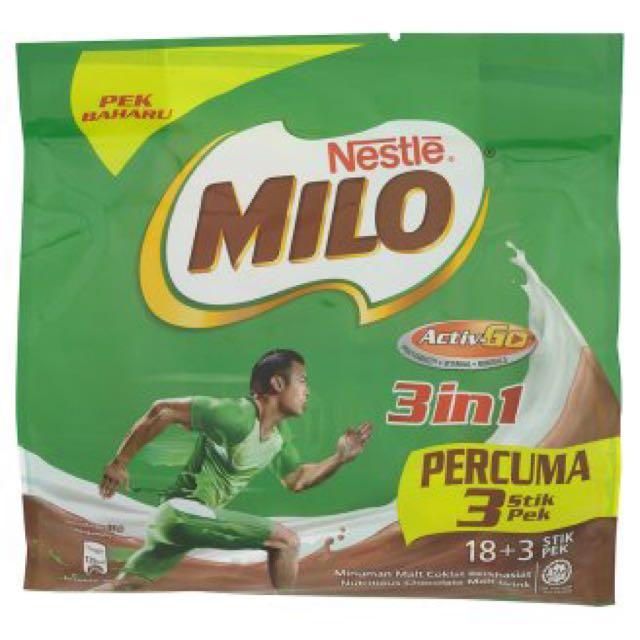 Milo 3 In 1 Original