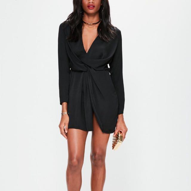 Missguided dress - black