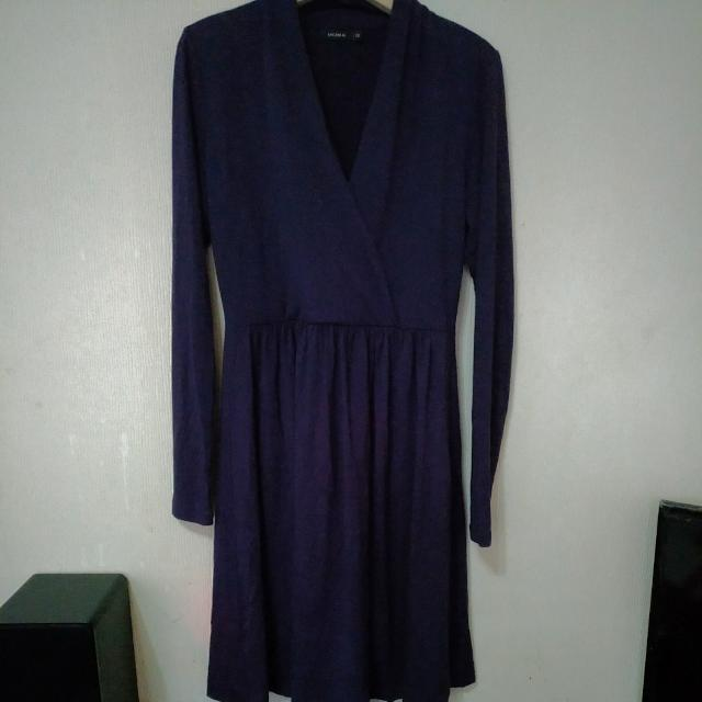 MOMA紫色洋裝