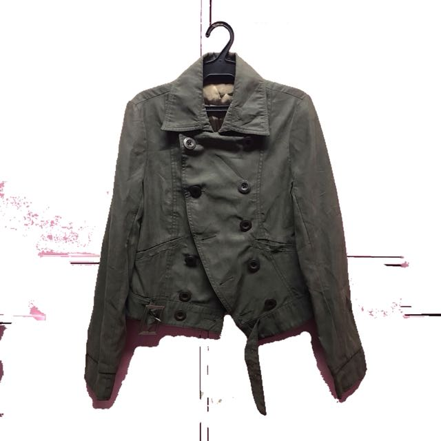 Moss Green (Greyish) jacket