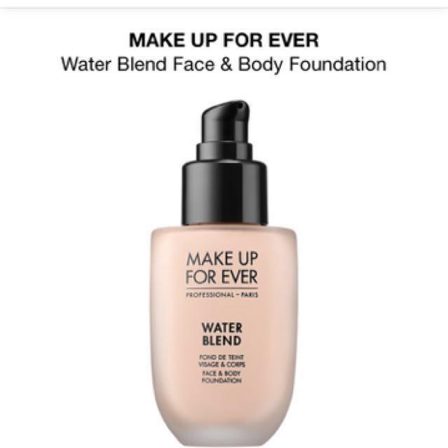 MUFE Waterblend Foundation