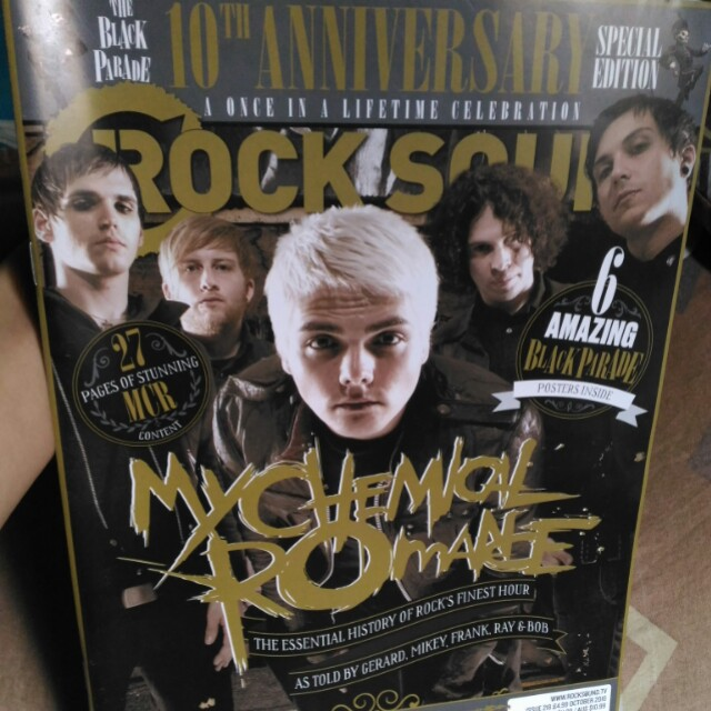 My Chemical Romance Rock Sound Magazine SPECIAL EDITION