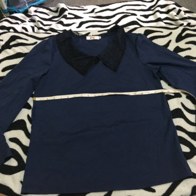 Navy Blue Long sleeves