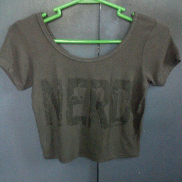 Nerd Cropped Top