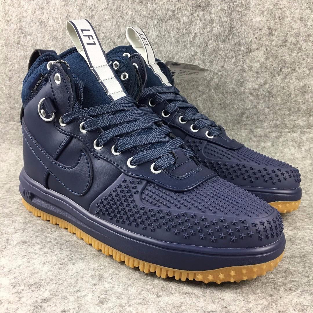 cheaper 23b40 61d58 Nike Lunar Force 1 - Blue, Men s Fashion, Footwear on Carousell