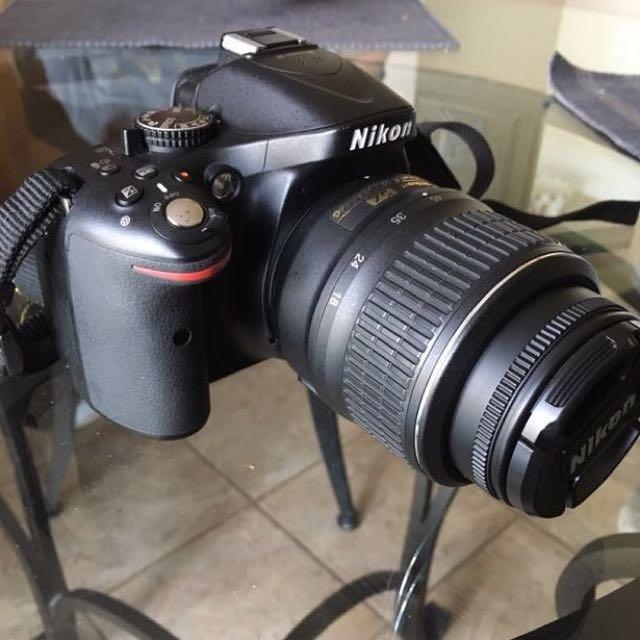 NIKON D5200 w/accessories  (best offer)