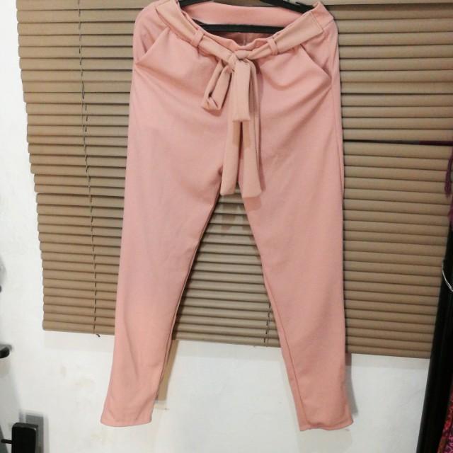Old rose trouser