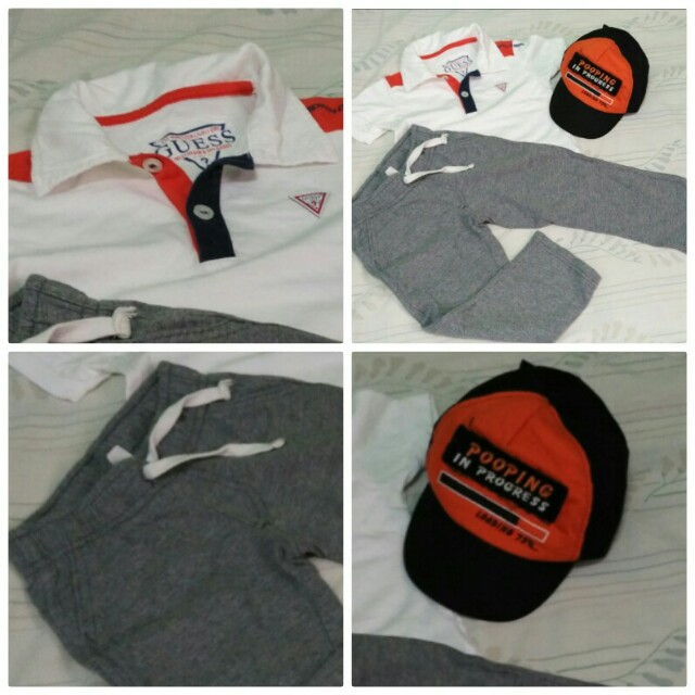 OOTD Bundle sweat pants and cap ONLY