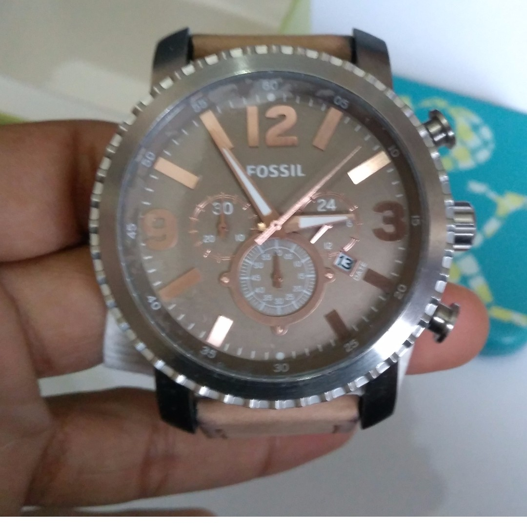 Original Fossil Watch Bq2136 Men Mens Fashion Watches On Carousell Jam Tangan Swatch 100  Yes4008 Go Red Black Ampamp