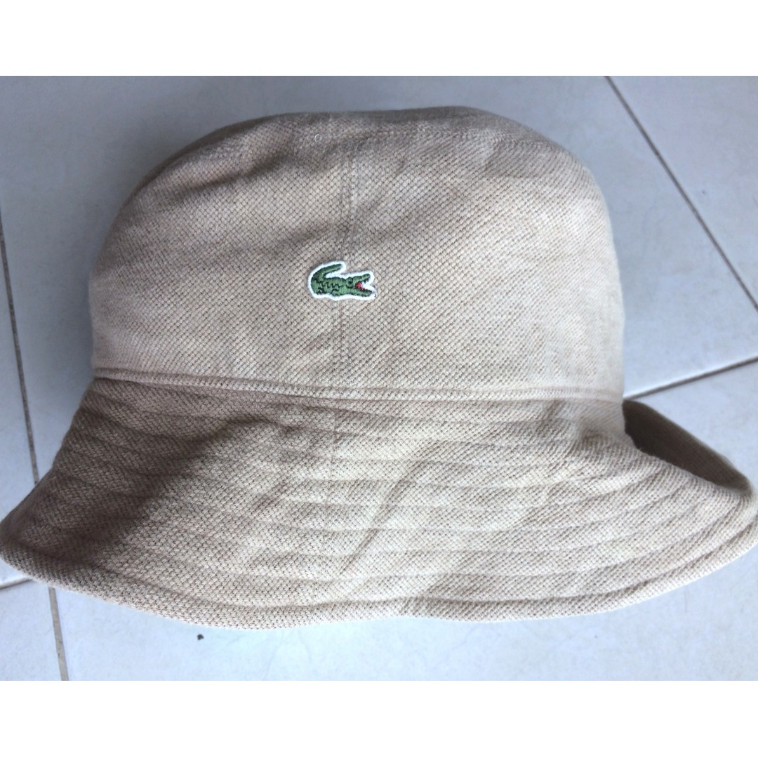 3c8a7225512bed Original Lacoste Bucket Hat, Men's Fashion, Accessories on Carousell