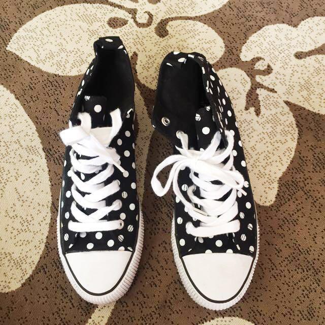 Polka Dot Terranova Shoes Size7