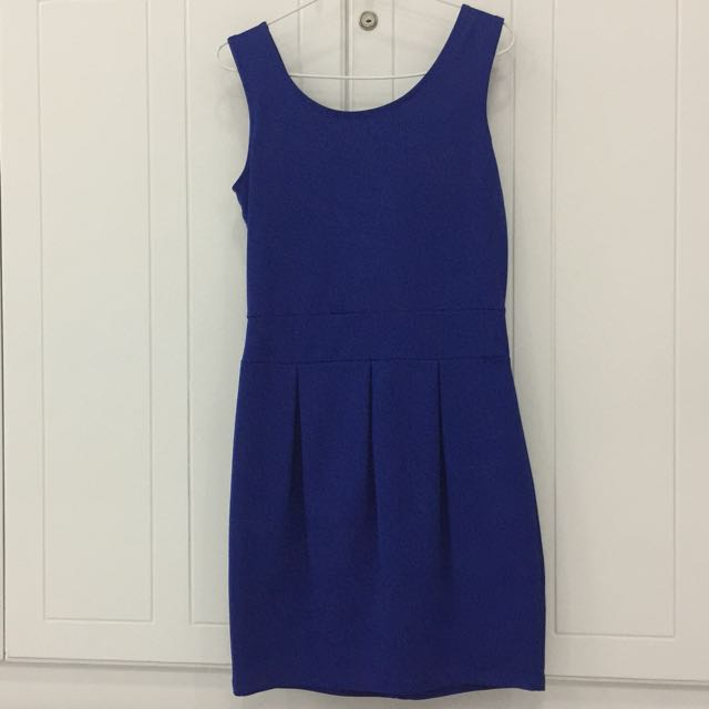 Preloved Blue Electric Dress
