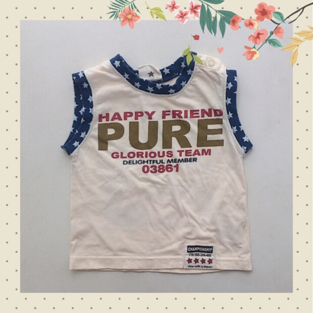 Preloved Boy T Shirt 3-6m (2nd)