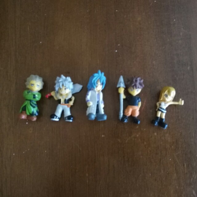 Rave mini figurines