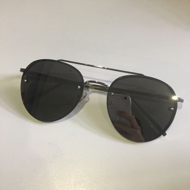 READY STOCK Grey Reflective Sunglasses